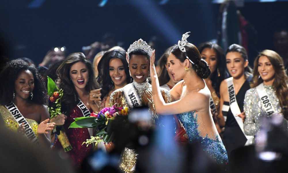 South Africa's Zozibini Tunzi Crowned Miss Universe