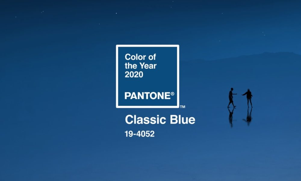 Pantone Announces Color For 2020: Classic Blue